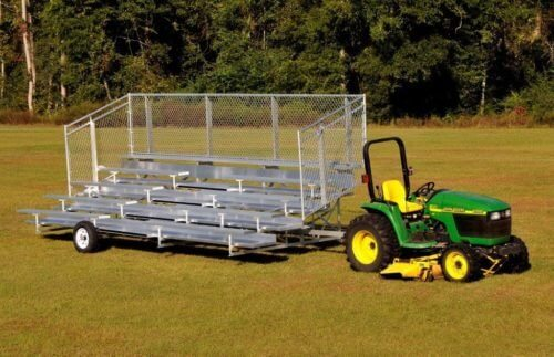 5 Row Transportable Bleacher • Seats 42