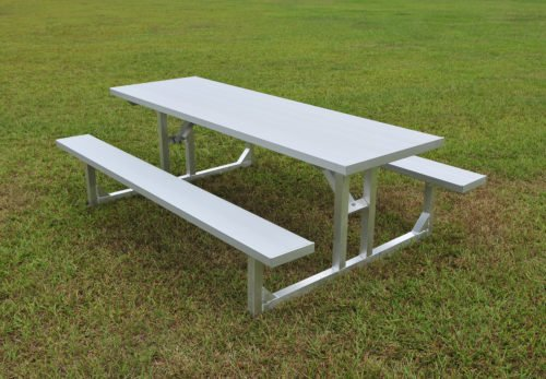 Aluminum Picnic Table 6' • Seats 8