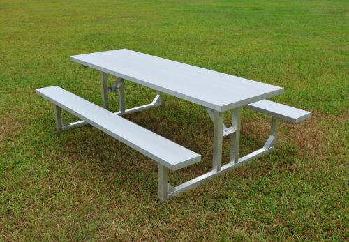 Aluminum Picnic Table 6' • Seats 8