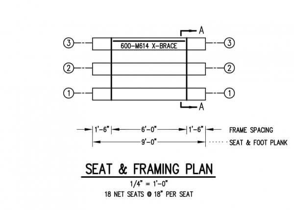 DLW-3-9 Seating Plan